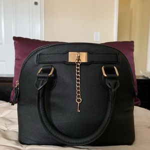 Black Aldo Satchel Handbag